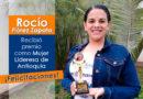 Rocío Flórez Zapata, recibió premio como Lideresa de Antioquia