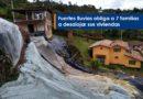 Fuertes lluvias obliga a 7 familias a desalojar sus viviendas