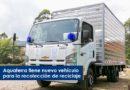 Aquaterra tiene nuevo vehículo para la recolección de reciclaje