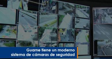 Guarne tiene un moderno sistema de cámaras de seguridad