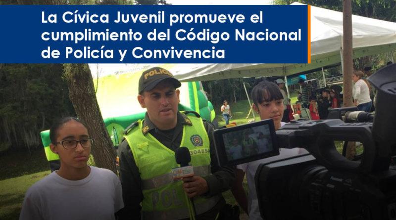 La Cívica Juvenil promueve el cumplimiento del Código Nacional de Policía y Convivencia